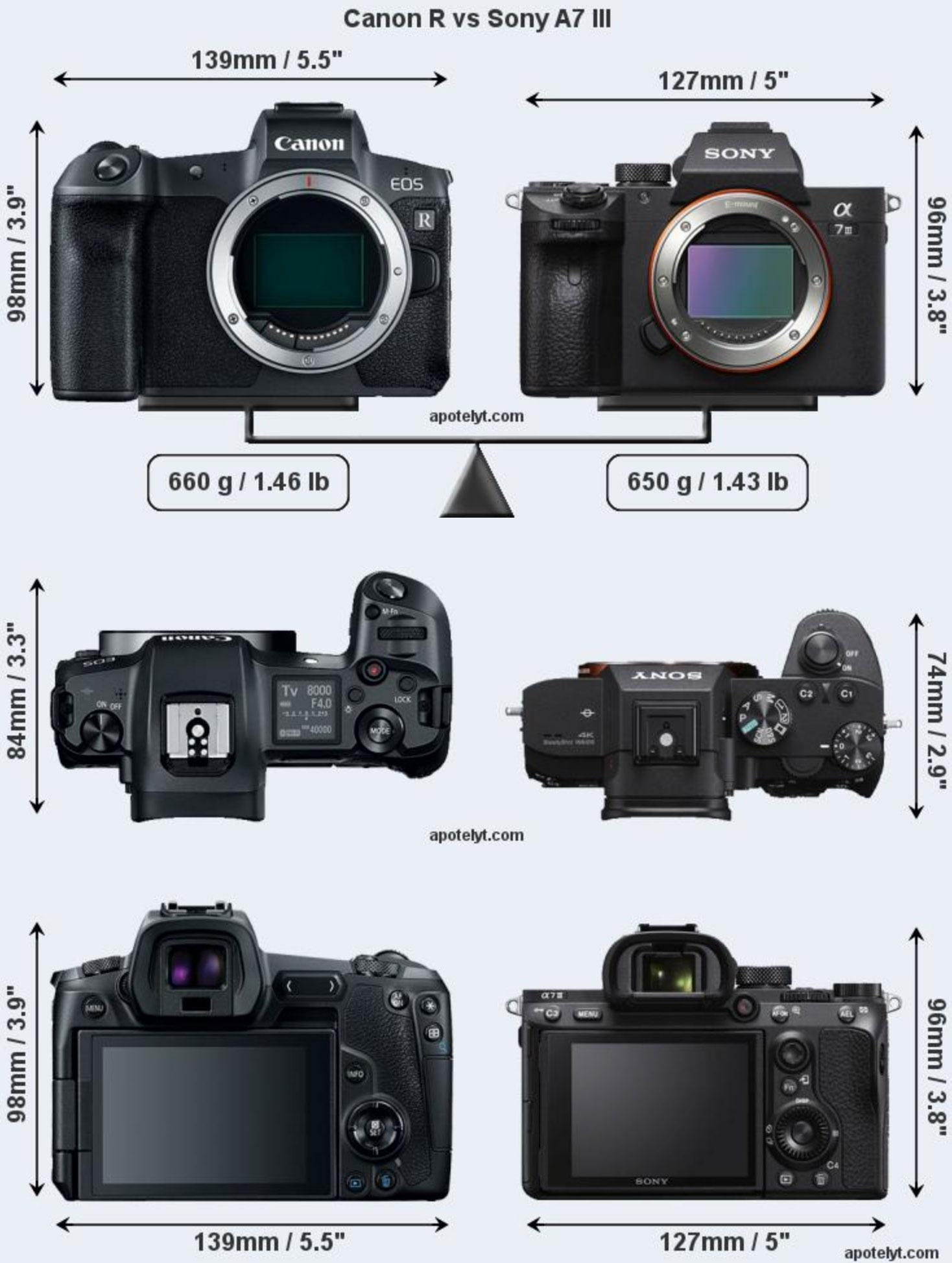 Canon enters full-frame mirrorless market with EOS R and four new ...